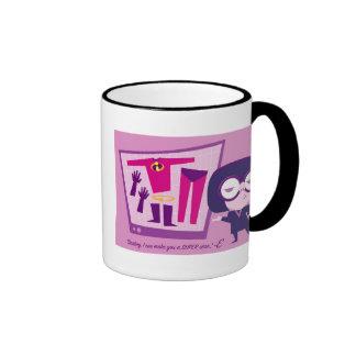 "The Incredibles Edna ""I Can Make You A Super Star"" Ringer Mug"