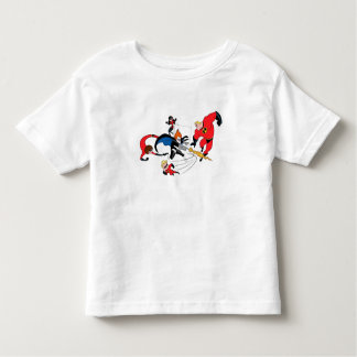 The Incredibles' Family Fighting Syndrome Disney T-shirt