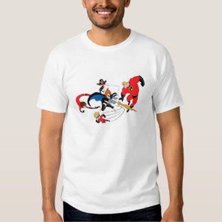 The Incredibles' Family Fighting Syndrome Disney T Shirts