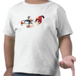 The Incredibles' Fighting Against Syndrome Disney T Shirts