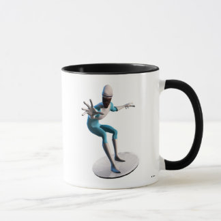 The Incredibles Frozone flying disc saucer Disney Mug