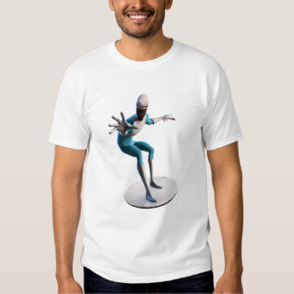 The Incredibles Frozone flying disc saucer Disney T-Shirt