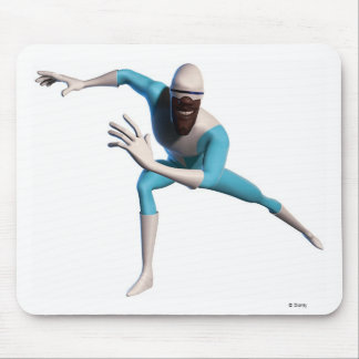 The Incredible's Frozone ice skates Disney Mouse Pad