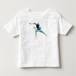 The Incredible's Frozone ice skates Disney Toddler T-shirt