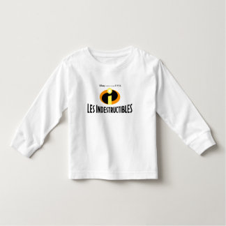 """The Incredibles """"Les Indestructibles"""" French logo Toddler T-shirt"""