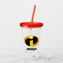 The Incredibles Logo | Add Your Name Acrylic Tumbler