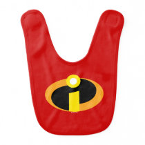The Incredibles Logo Baby Bib