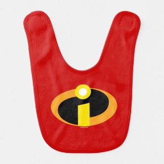The Incredibles Logo Baby Bib