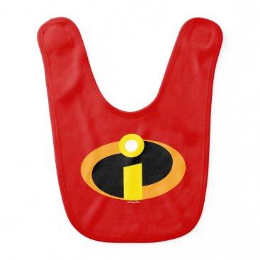 Disney Themed The Incredibles Logo Baby Bib