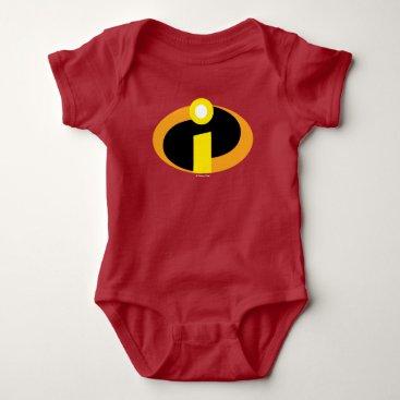 Disney Themed The Incredibles Logo Baby Bodysuit