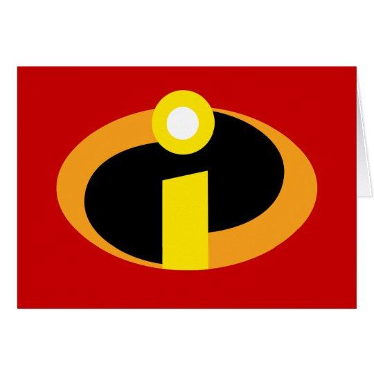 the incredibles logo card zazzlecom