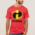 """The Incredibles Logo   Family Vacation T-Shirt<br><div class=""""desc"""">Going on a Disney family vacation? Customize these awesome Incredibles shirts for the whole family by adding your family name or custom text.</div>"""