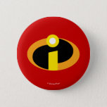 "The Incredibles Logo Pinback Button<br><div class=""desc"">Disney/Pixar Incredibles movie logo.</div>"