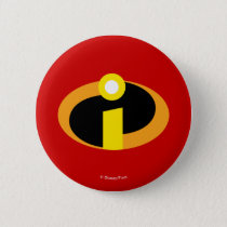The Incredibles Logo Pinback Button