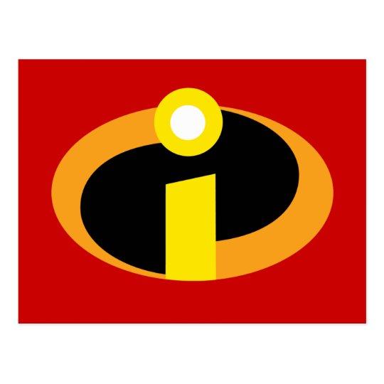 the incredibles logo postcard zazzle com rh zazzle com Incredibles Logo Patterns The Incredibles Logo Font