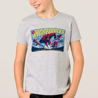 The Incredibles movie poster Disney T-Shirt