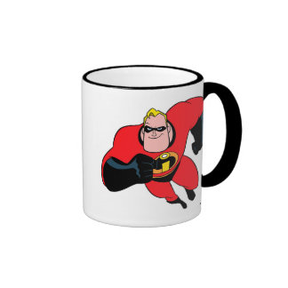 The Incredibles Mr.Incredible flying Disney Coffee Mugs