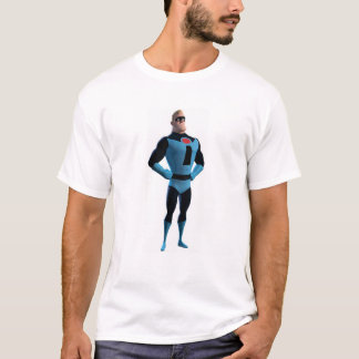The Incredibles Mr.Incredible in blue Disney T-Shirt