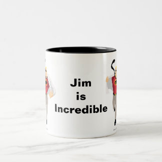 The Incredibles Mr. Incredible like Superman Two-Tone Coffee Mug