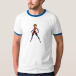 The Incredibles Mrs. Incredible Elastigirl Disney Tee Shirts