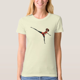 The Incredibles Mrs. Incredible kicking stretching T-Shirt