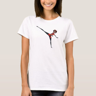 The Incredibles Mrs. Incredible kicking stretching T-Shirt