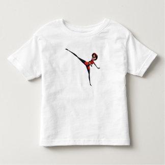 The Incredibles Mrs. Incredible kicking stretching Toddler T-shirt