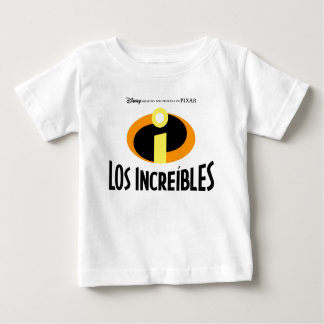 The Incredibles Spanish Disney Baby T-Shirt