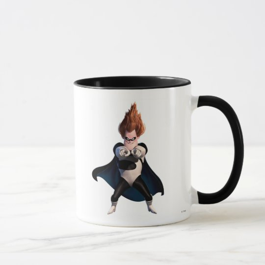 The Incredibles' Syndrome smiles at you Disney Mug