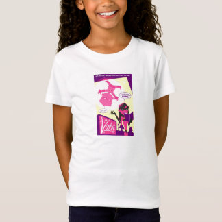 The Incredibles Violet Comic Book Page Disney T-Shirt