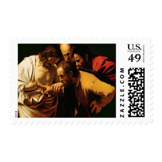The Incredulity of St. Thomas, 1602-03 Postage