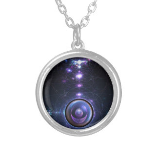 The Incubator Round Pendant Necklace