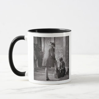 The Independent Shoe Black, from 'Street Life in L Mug
