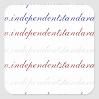The Independent Standard Square Sticker