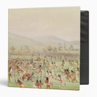 The Indian Ball Game, c.1832 Vinyl Binders
