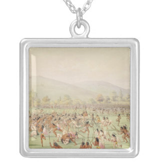 The Indian Ball Game, c.1832 Pendant