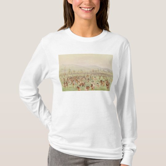 The Indian Ball Game, c.1832 T-Shirt