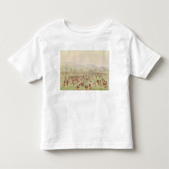 The Indian Ball Game, c.1832 Toddler T-shirt