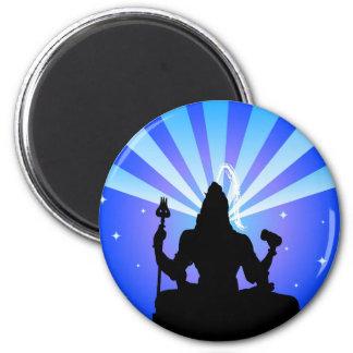 The Indian God Shiva - Magnet