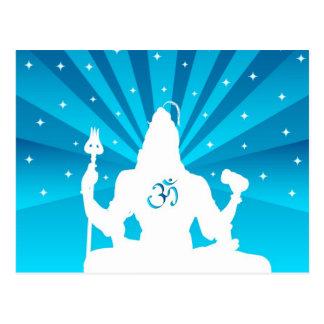 The Indian God Shiva - Postcard
