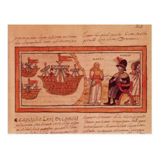 The Indian princess Malinche or Dona Marina Postcard