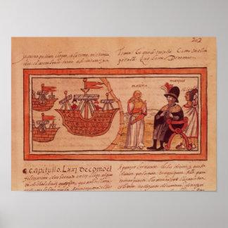 The Indian princess Malinche or Dona Marina Print