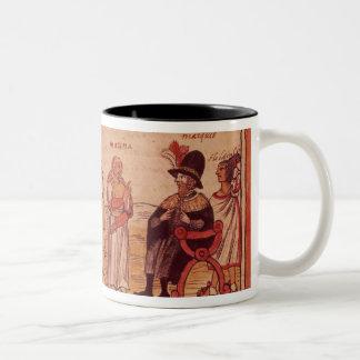 The Indian princess Malinche or Dona Marina Two-Tone Coffee Mug