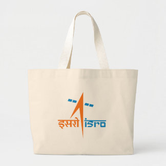 The Indian Space Research Organisation - ISRO Large Tote Bag