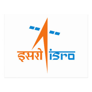 The Indian Space Research Organisation - ISRO Postcard