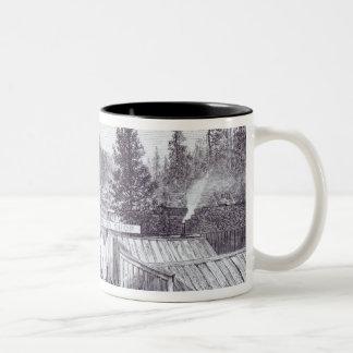 The Indian War, Deadwood City Two-Tone Coffee Mug