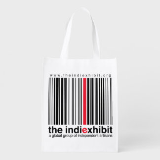 the indiexhibit reusable grocery bag