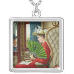 The Indiscretion, 1895 Square Pendant Necklace