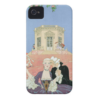 The Indolents,  illustration for 'Fetes Galantes' iPhone 4 Case
