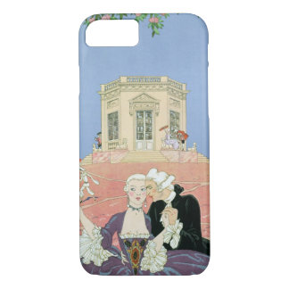 The Indolents, illustration for 'Fetes Galantes' iPhone 8/7 Case